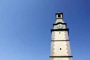 Glockenturm-Uhr