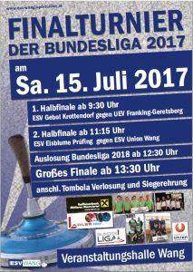 Bundesliga A1 Plakat Finale